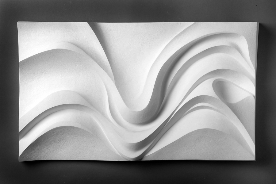 """Wing"" 2006; 25x14x3"" (original in cellulose filler)"